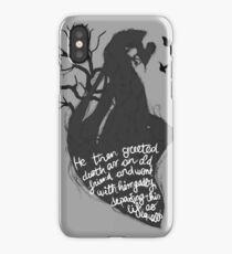 The tale of who must no be named iPhone Case/Skin