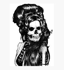 Dead Famous Amy Photographic Print