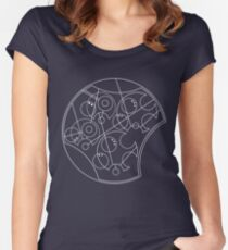 Doctor Who Wibbly Wobbly Timey Wimey Women's Fitted Scoop T-Shirt