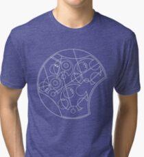 Doctor Who Wibbly Wobbly Timey Wimey Tri-blend T-Shirt