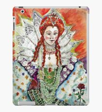 Queen Elizabeth 1--One crown to rule them all iPad Case/Skin