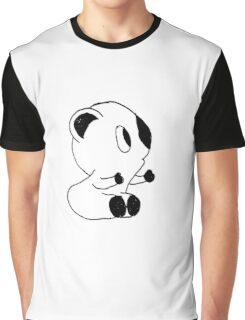 Funny Little Bear Doodle Graphic T-Shirt