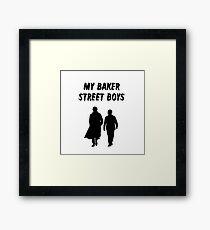 My Baker Street Boys {FULL} Framed Print