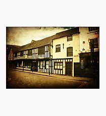 Tudor House museum, Worcester Photographic Print
