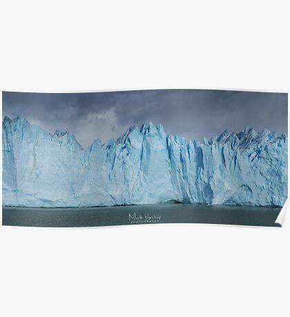 perito moreno glacier Poster
