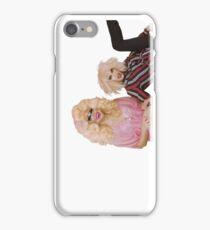 Katya Zamolodchikova and Trixie Mattel (UNHhhh) iPhone Case/Skin