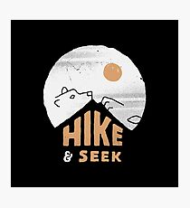 Hike And Seek Photographic Print