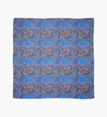 Pink Magnolia Flower Blossoms Abstract Nature Art Scarf