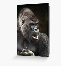 Do you mind I'm trying to eat! Greeting Card