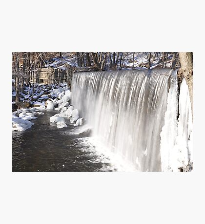 Winter at the Falls Photographic Print