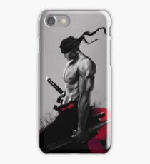 Zoro - Style painting iPhone Case/Skin