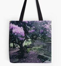Blossoming Graveyard Tote Bag
