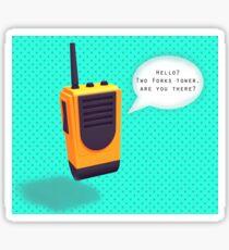 Firewatch Walkie Sticker