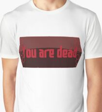 SAO - You Are Dead Graphic T-Shirt