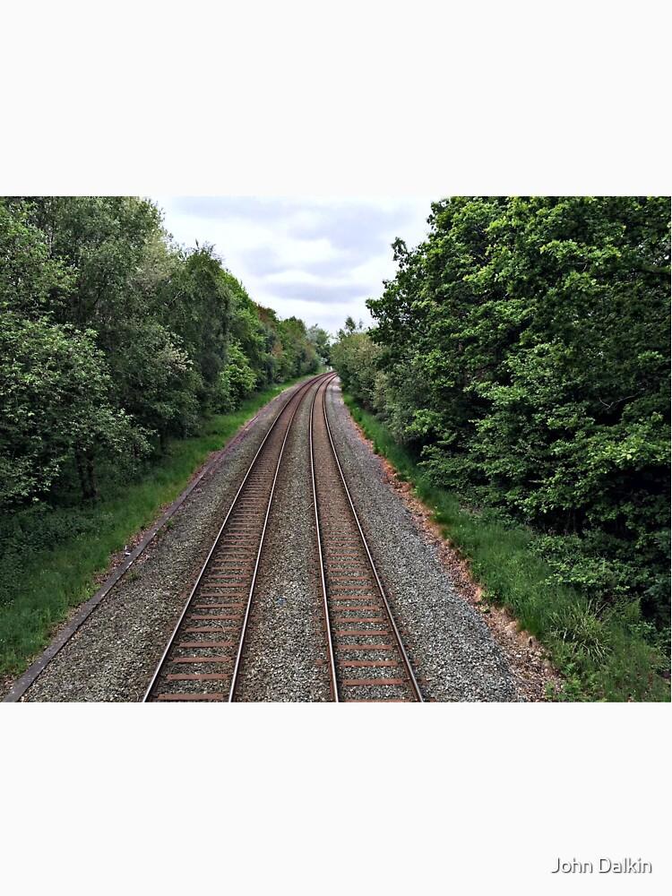 Train in the distance by JohnDalkin
