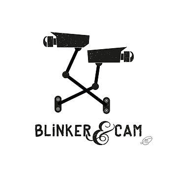 Blinker & Cam Logo Merchandise by jmansbridge