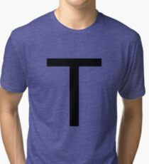 Alphabet T Tri-blend T-Shirt