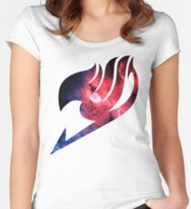 Happy Space Women's Fitted Scoop T-Shirt