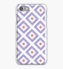 Knitted pattern. iPhone Case/Skin