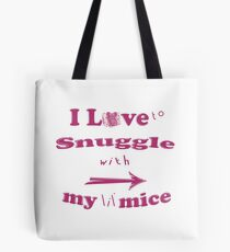 Snuggle with Lil Mice ~ Tiny Sweet Mice Line Tasche