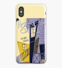Noises Off Playbill iPhone Case/Skin