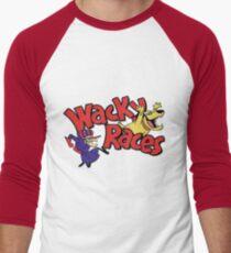 Wacky Races Baseball Raglan Shirt for Adults
