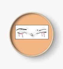 Pink Tear Clock