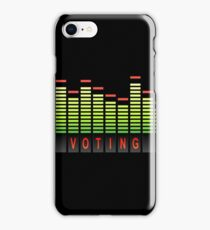 Voting levels. iPhone Case/Skin
