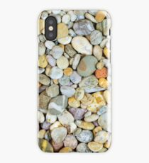 Pebbles from a Cornish beach. iPhone Case/Skin