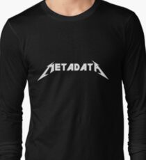Metadata Long Sleeve T-Shirt