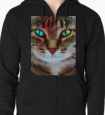 Kitty Stardust Zipped Hoodie