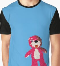Pink Teddy Bear Breaking Bad Graphic T-Shirt