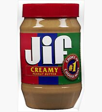Jif Peanut Butter (Extra Creamy) Poster