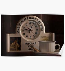 T is for......Time for Tea Poster