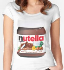 Nutella Spread Women's Fitted Scoop T-Shirt