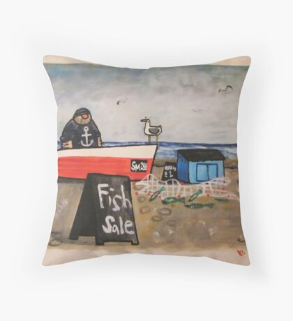 Sussex School Throw Pillow