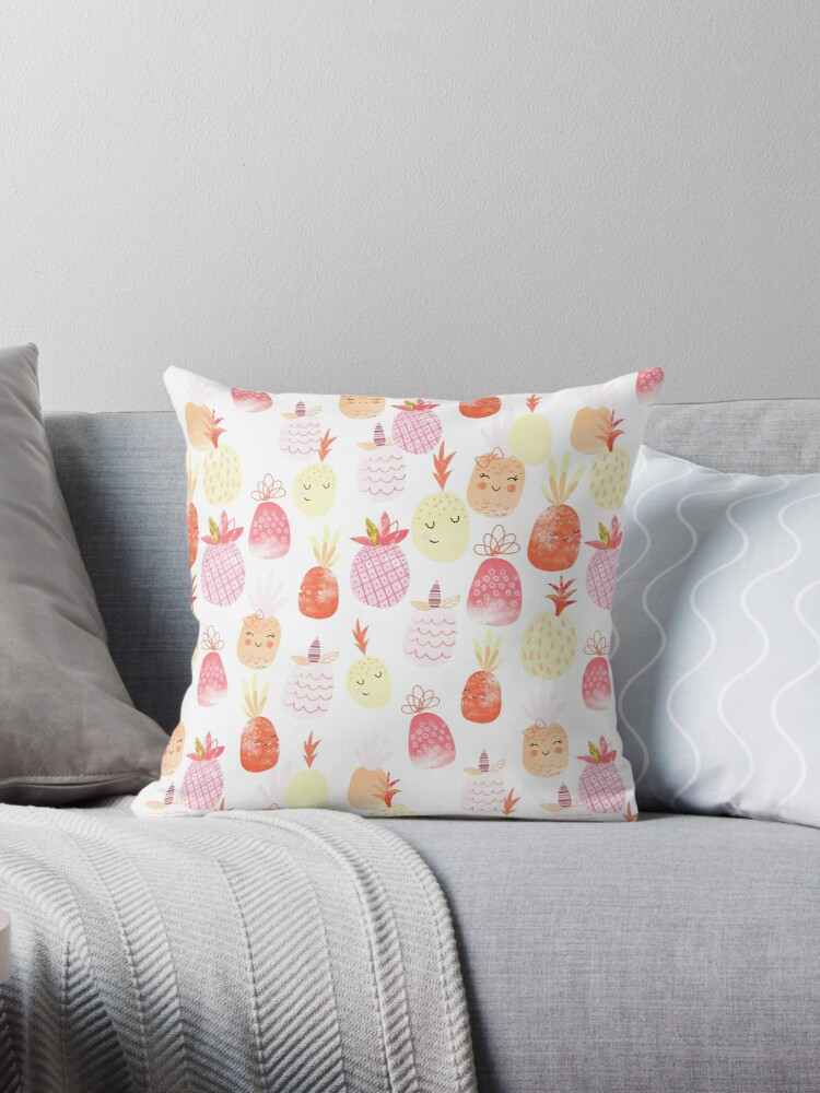 Pretty Punchy Pineapples by Holly Hatam