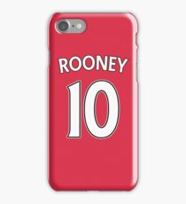 Wayne Rooney Manchester United Jersey iPhone Case/Skin