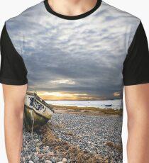 Fishing Boat - Lytham Graphic T-Shirt
