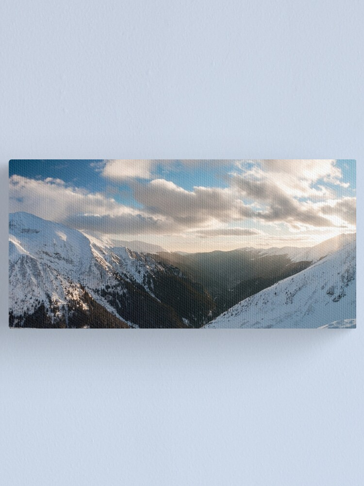 Alternate view of The valley Canvas Print