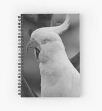 Cuaderno de espiral Un Cockatiel bostezando