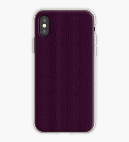 Deep Plum  Weave by Julie Everhart iPhone Case