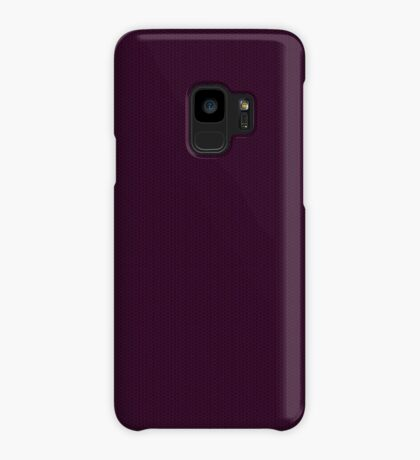 Deep Plum  Weave by Julie Everhart Case/Skin for Samsung Galaxy