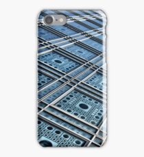 Blue facade iPhone Case/Skin