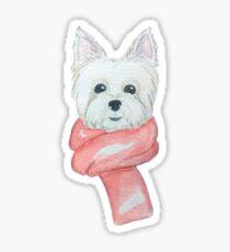 Westie love Sticker