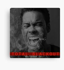 CHRIS ROCK - TOTAL BLACKOUT Canvas Print