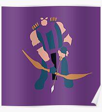 Hawkeye - Cutout Poster