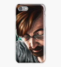 """""""People are Unknowable"""" Alec Hardy Broadchurch David Tennant Digital Painting iPhone Case/Skin"""