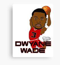 Dwyane Wade Canvas Print