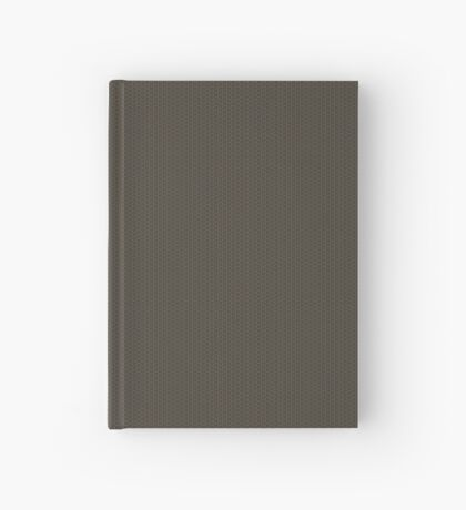 Gray-Taupe Weave Pattern by Julie Everhart Hardcover Journal